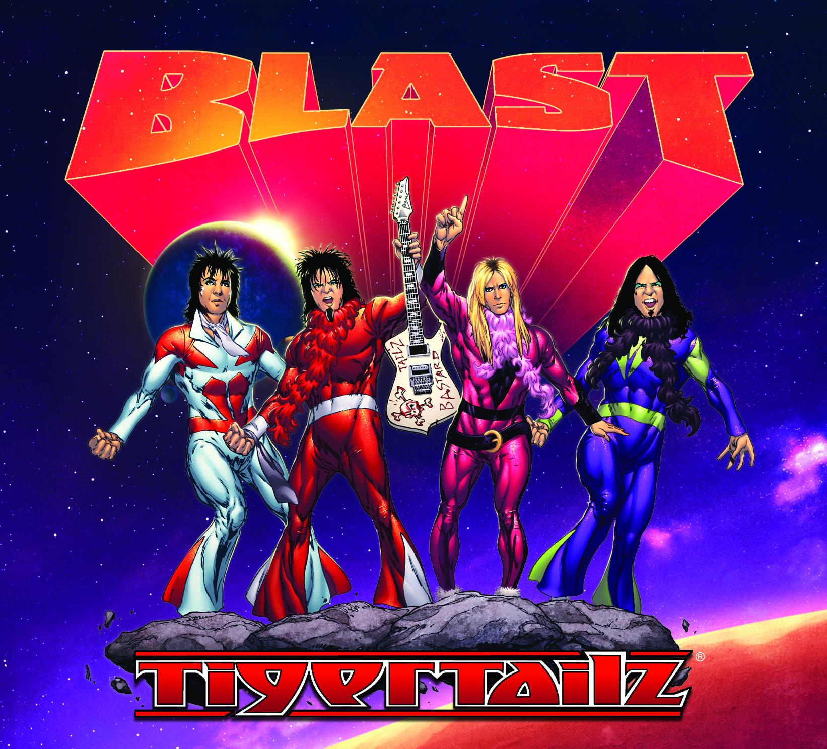 Tigertailz – Blast – CD Review