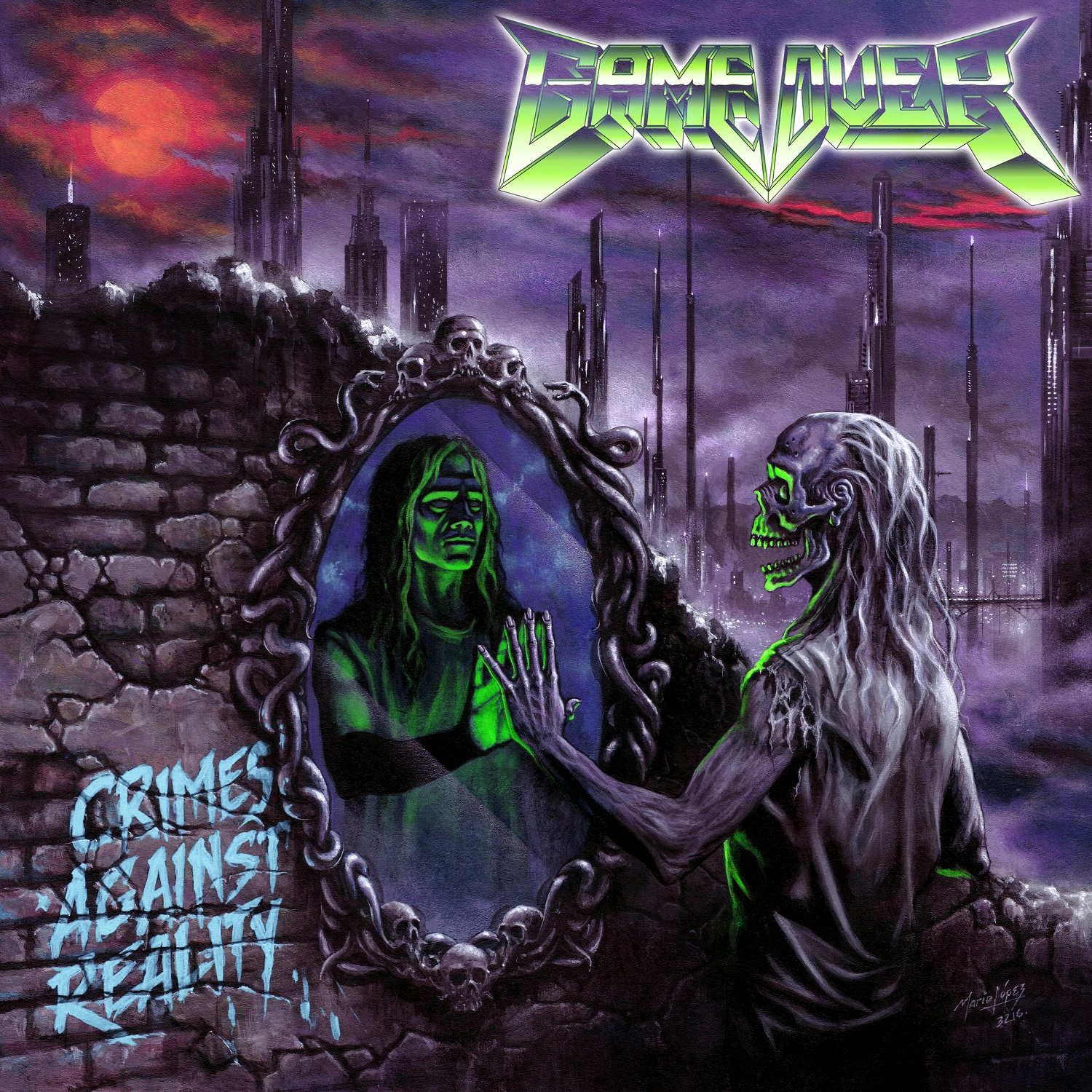 Game Over – Crimes Against Reality CD Review