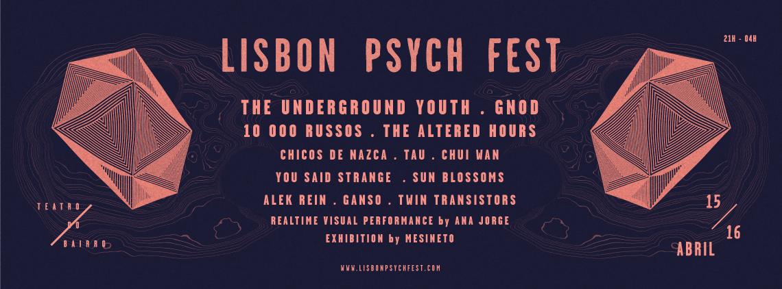 Lisbon Psych Fest 2016 Schedule