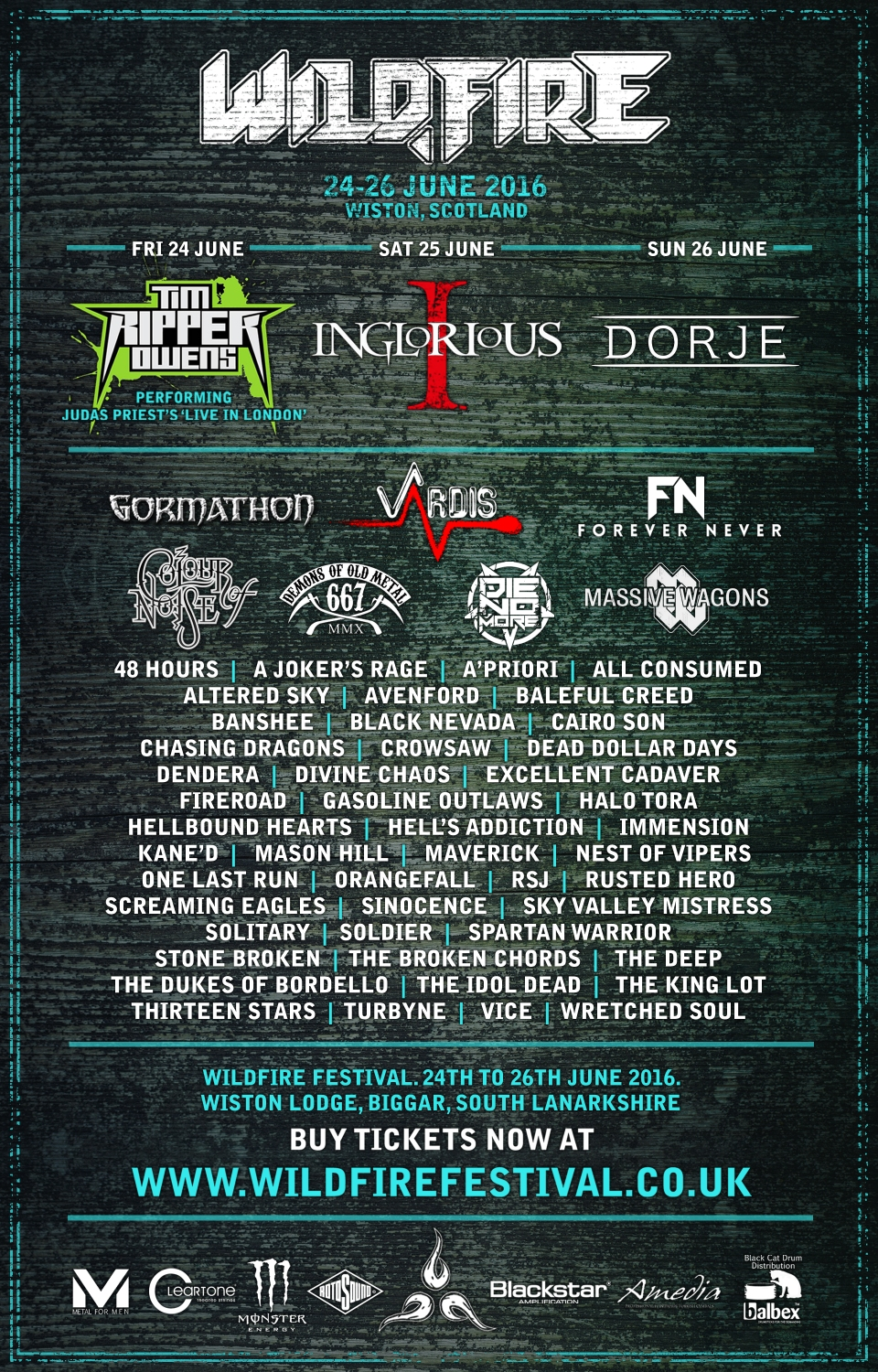Wildfire Festival – Latest News!