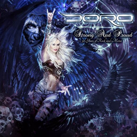 DORO Announces live DVD/Blu-Ray 'Strong And Proud – 30 Years Of Rock And Metal'