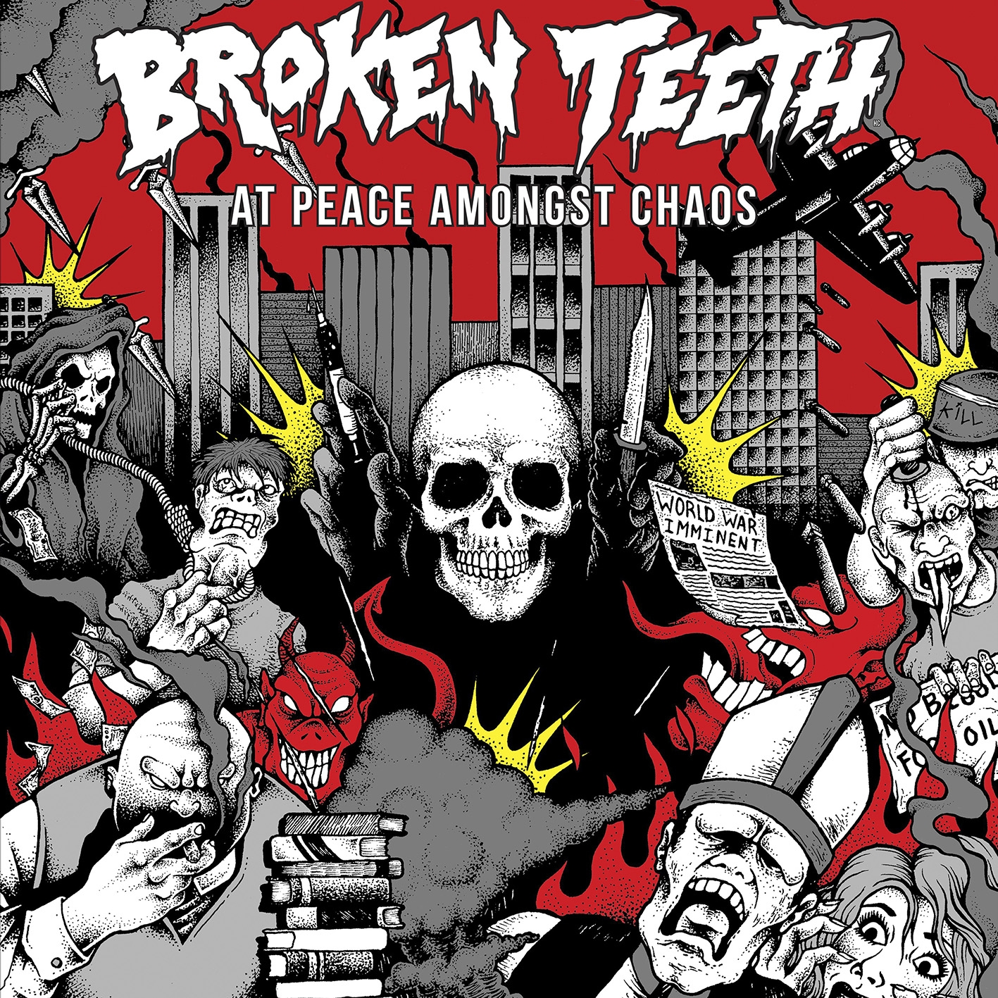 Broken Teeth – At Peace Amongst Chaos CD Review