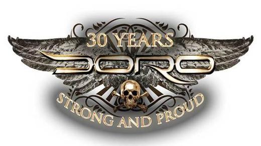 DORO Honoured with 'Metal Goddess' award in Las Vegas!