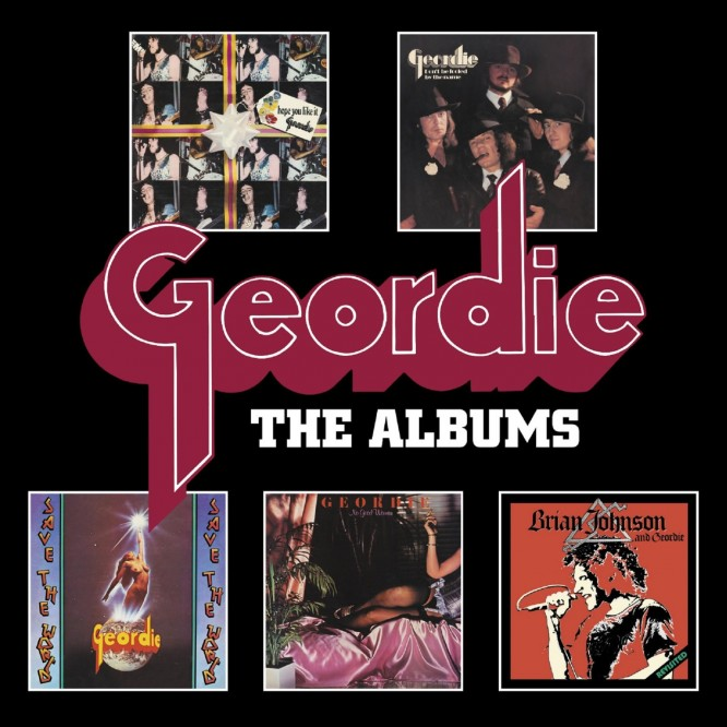 GEORDIE – The Albums – BOXSET Review
