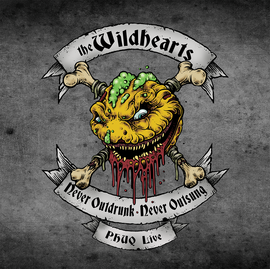 THE WILDHEARTS – Never Outdrunk, Never Outsung – PHUQ Live- CD Review