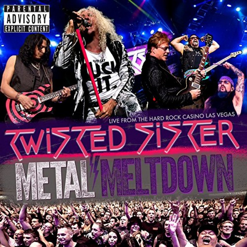 """TWISTED SISTER – METAL MELTDOWN LIVE AT THE HARD ROCK CASINO – LAS VEGAS – A CONCERT TO HONOR AJ PERO"""