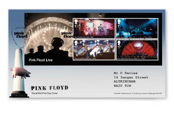 Pink-Floyd-FDC-Minisheet