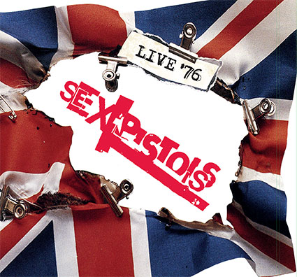 SEX PISTOLS – LIVE '76 – 4CD Box Set