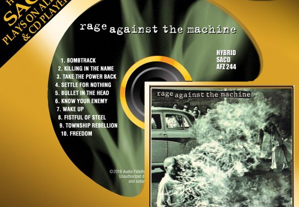 Rage Against the Machine Debut Album To Be Released On Limited Edition Hybrid SACD