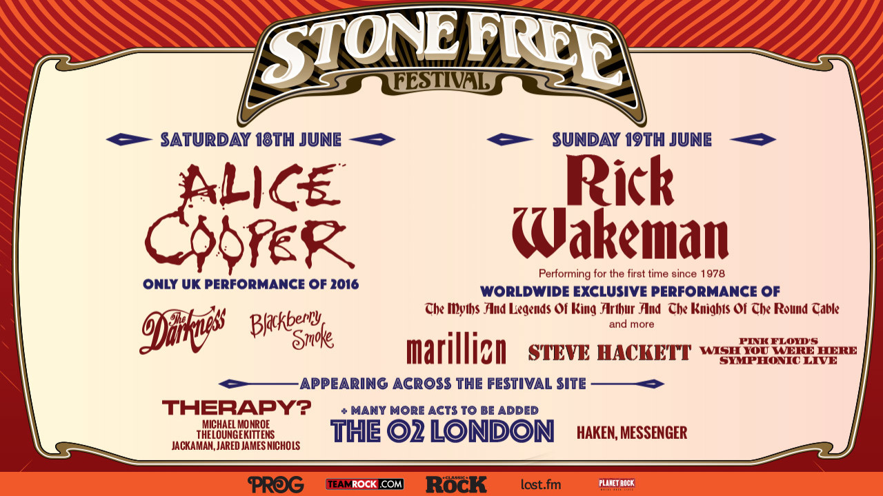 Stone Free Festival 2016 – O2 London Review