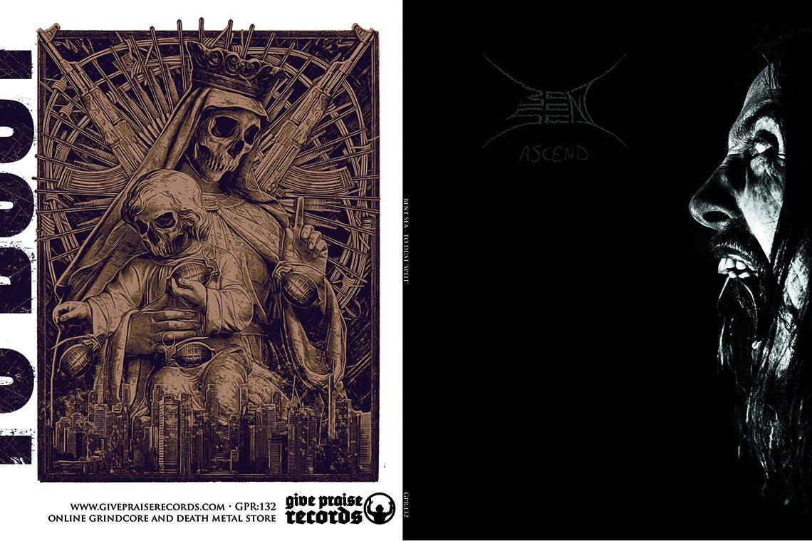 Bent Sea/To Dust: Ascend/Descend split EP – CD Review