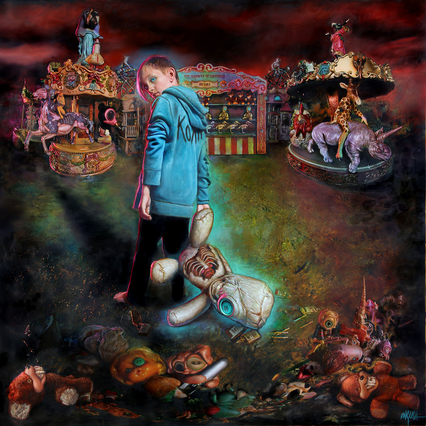 KORN reveal new album details & new video for 'Rotting In Vain'