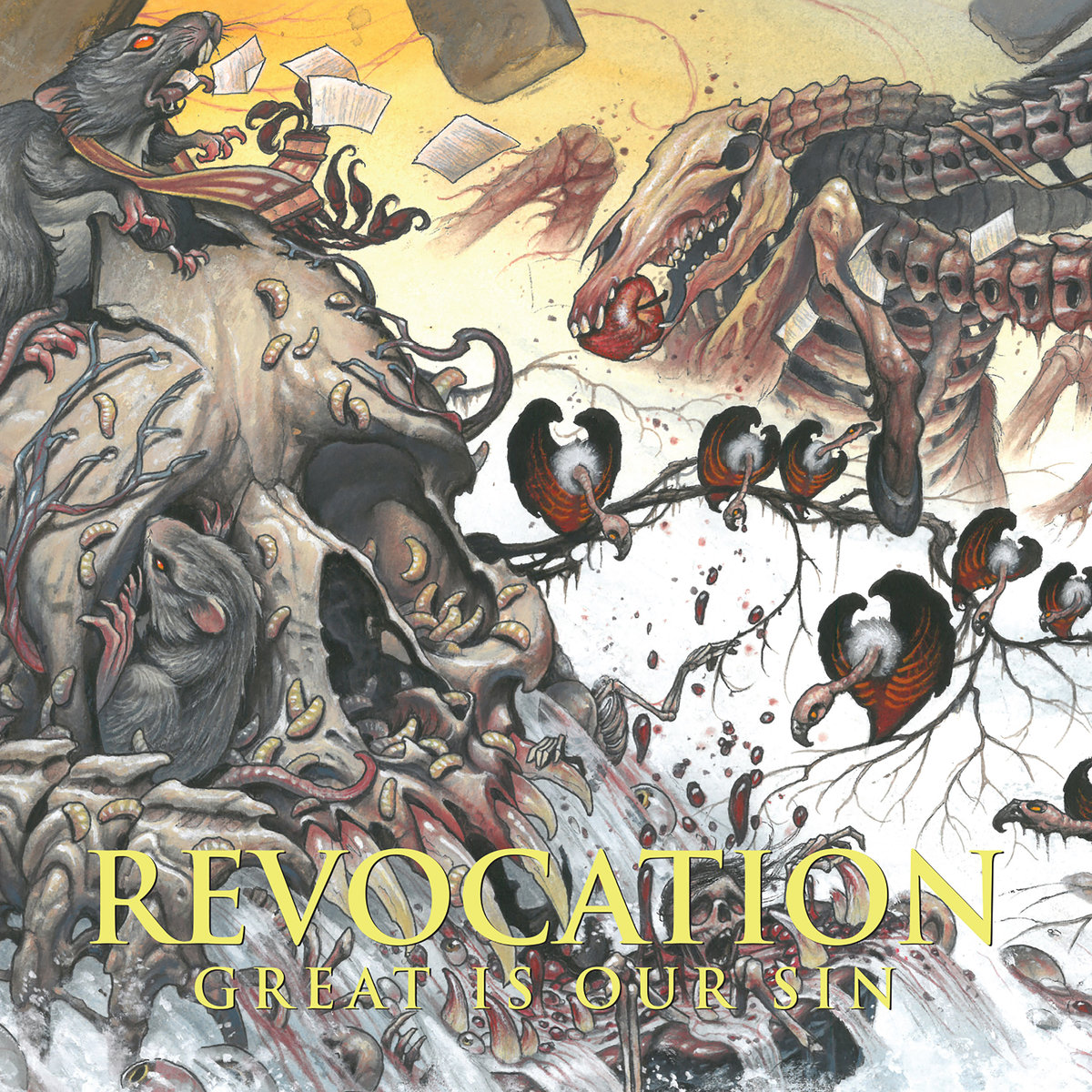 Revocation – Great Is Our Sin – CD Review