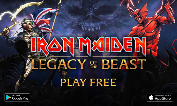 IRON MAIDEN:'LEGACY OF THE BEAST' LAUNCHES TODAY