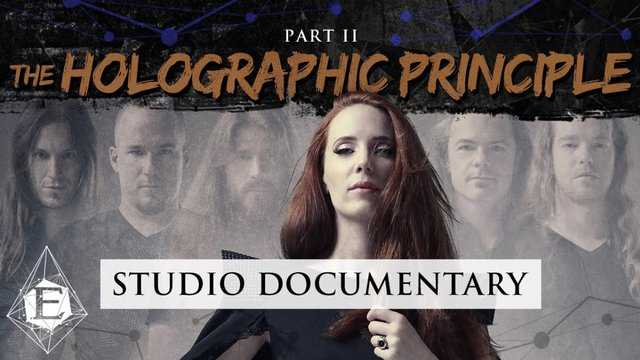 "EPICA – release second trailer for ""The Holographic Principle"""