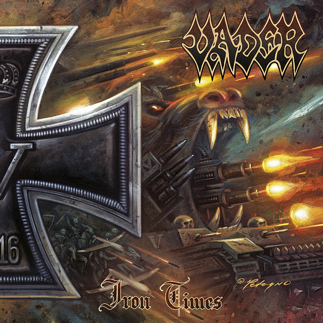 VADER Cover Artwork Of 'Iron Times' EP Revealed