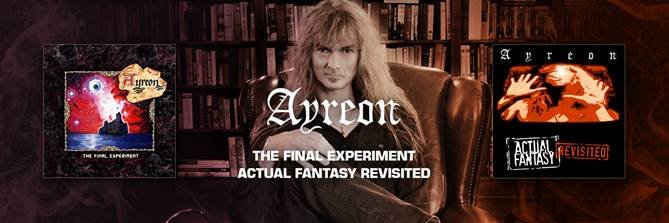 Ayreon's first 2 albums to be released on vinyl