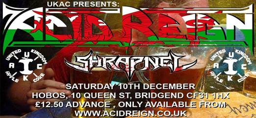 Acid Reign announce exclusive Xmas Bash!