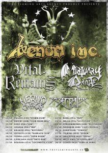 Venom Inc Tour