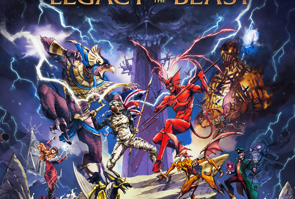 Iron Maiden create live experience in 'Legacy Of The Beast' game