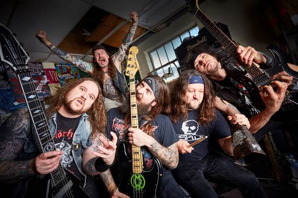 MUNICIPAL WASTE Announced for London show alongside Agnostic Front & Suicidal Tendencies