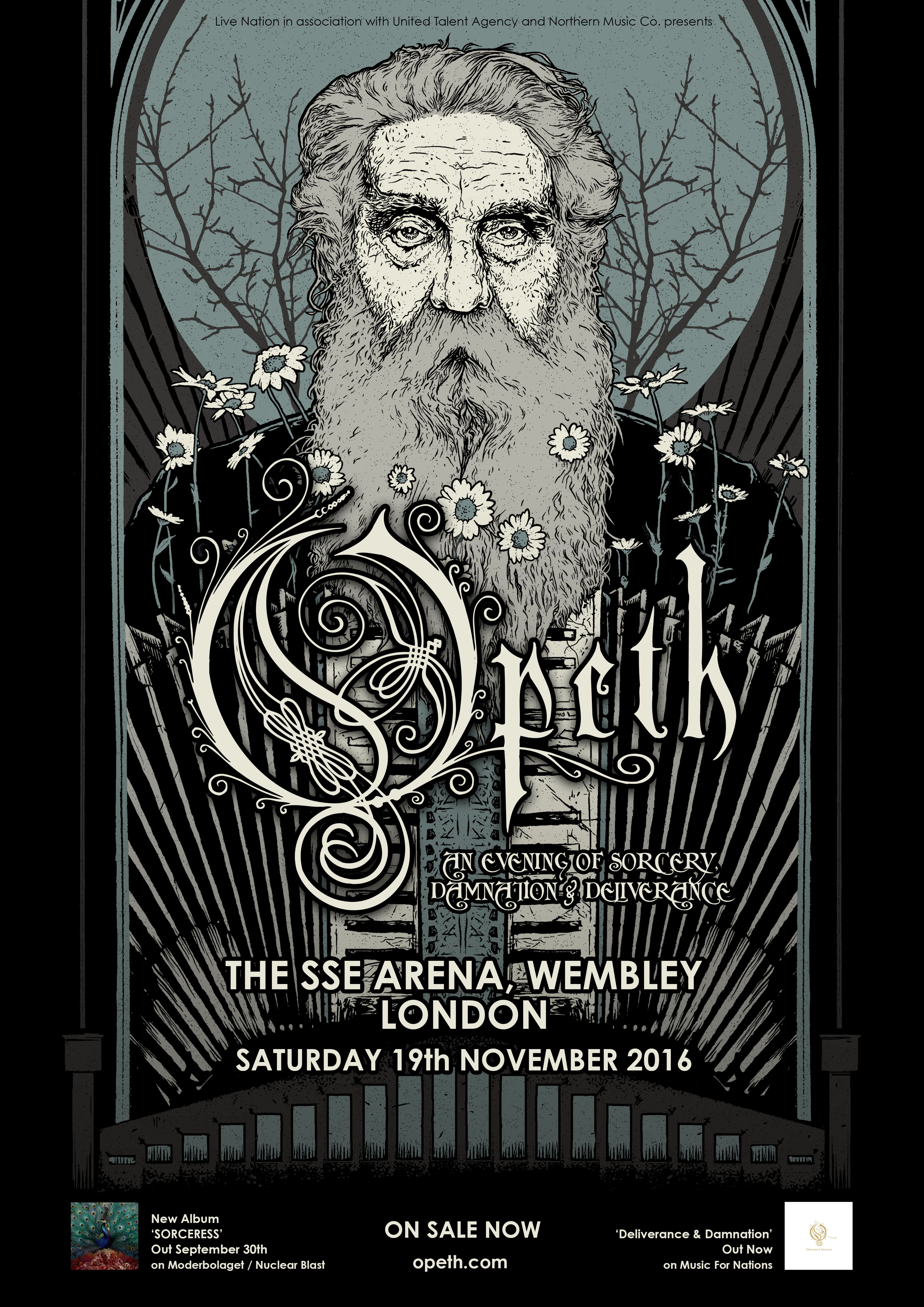 OPETH detail Wembley Arena set