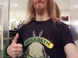 Interview with Megadeth's Dirk Verbeuren