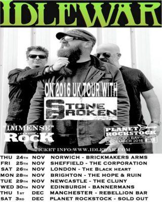 Idlewar Tour Poster
