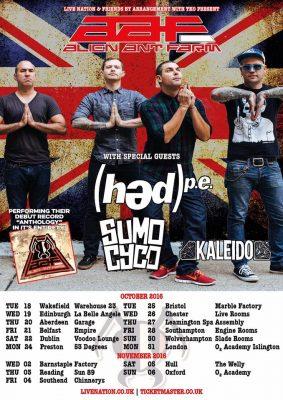 Hed Pe Tour