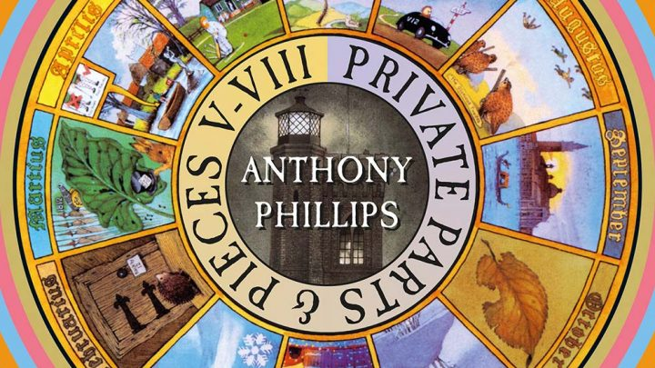 Anthony Phillips – Private Parts & Pieces V-VIII: 5CD Deluxe Clamshell Box Set