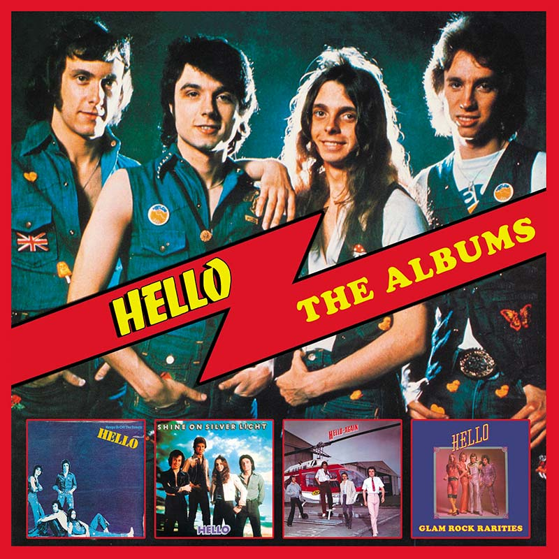 Hello – The Albums: Deluxe 4 CD Set