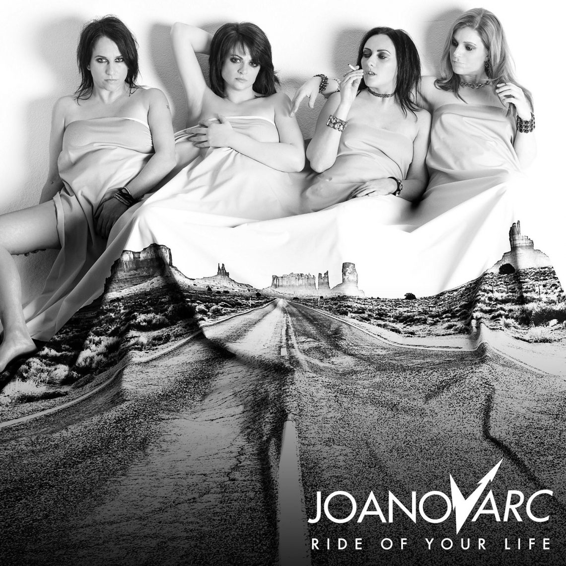 JOANovARC  debut album  Ride Of Your Life  released