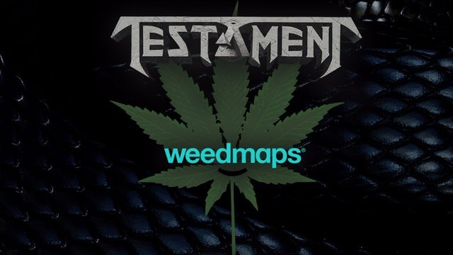 TESTAMENT Release new song clip via WeedmapsTV / Marijuana.com