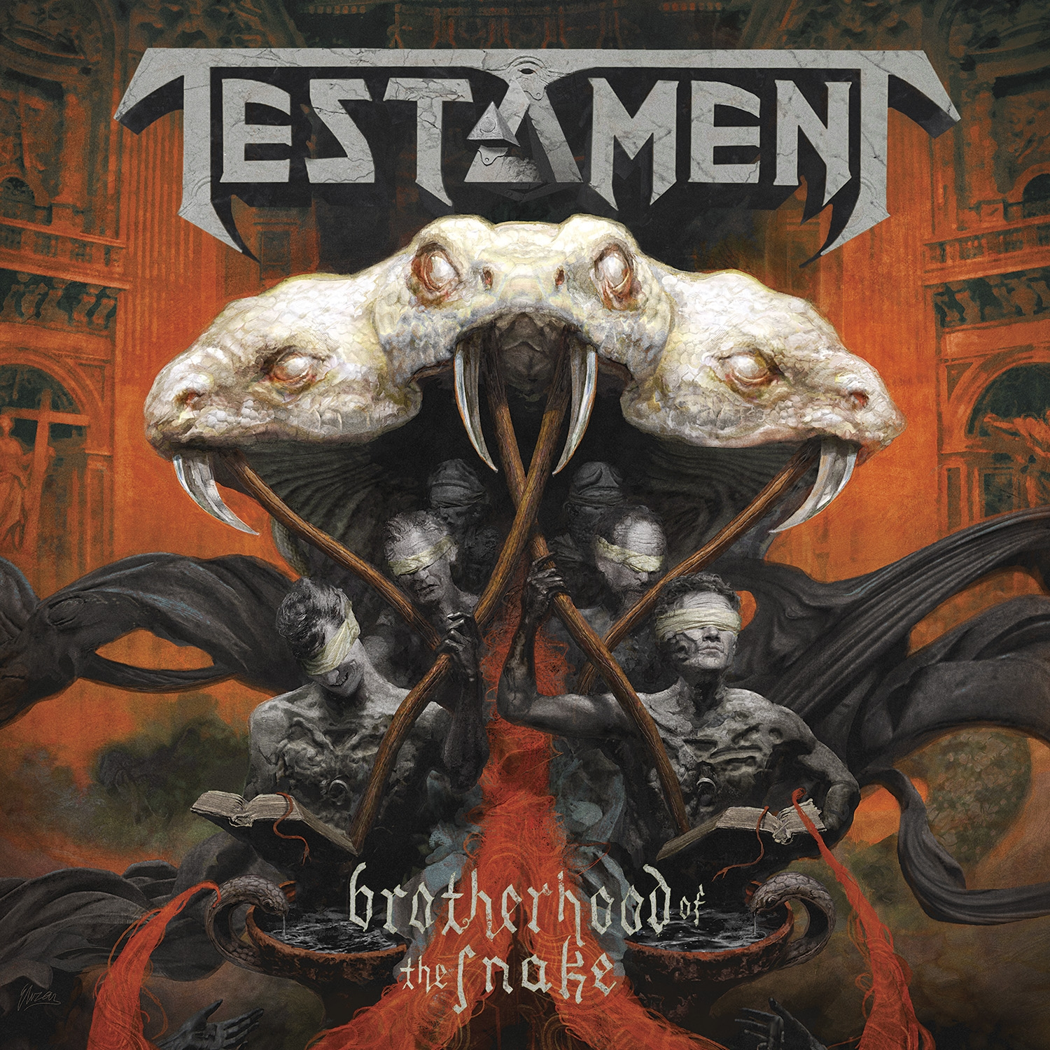 Testament – Brotherhood of the Snake CD Review