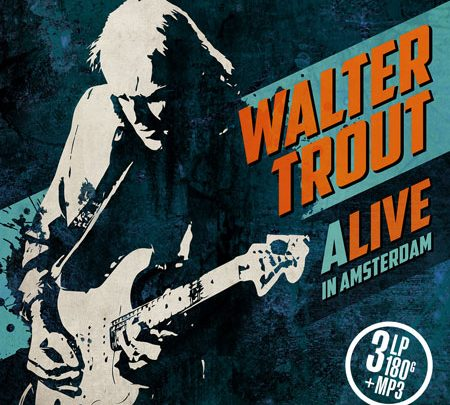 Walter Trout – Queens Hall Edinburgh – 22nd October