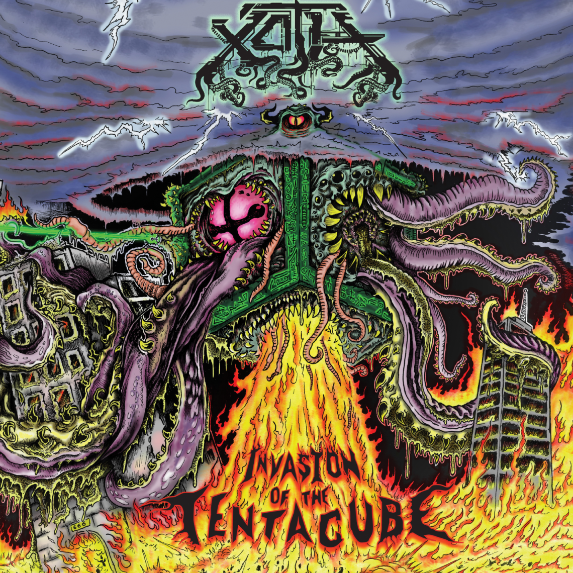 Xoth – Invasion of the Tentacube CD Review