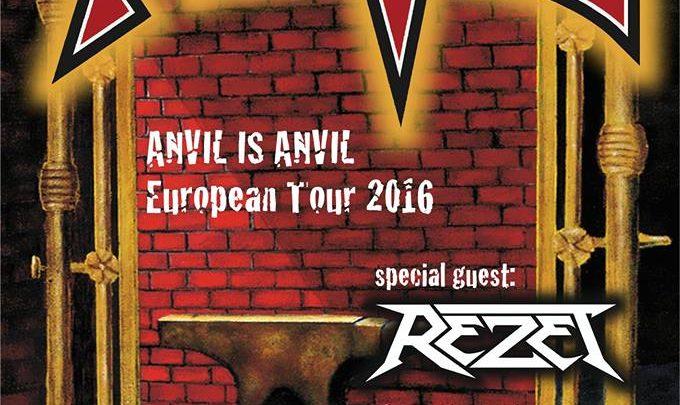 Anvil – Rebellion, Manchester, 21/10/2016