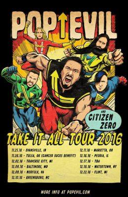 Pop Evil Tour