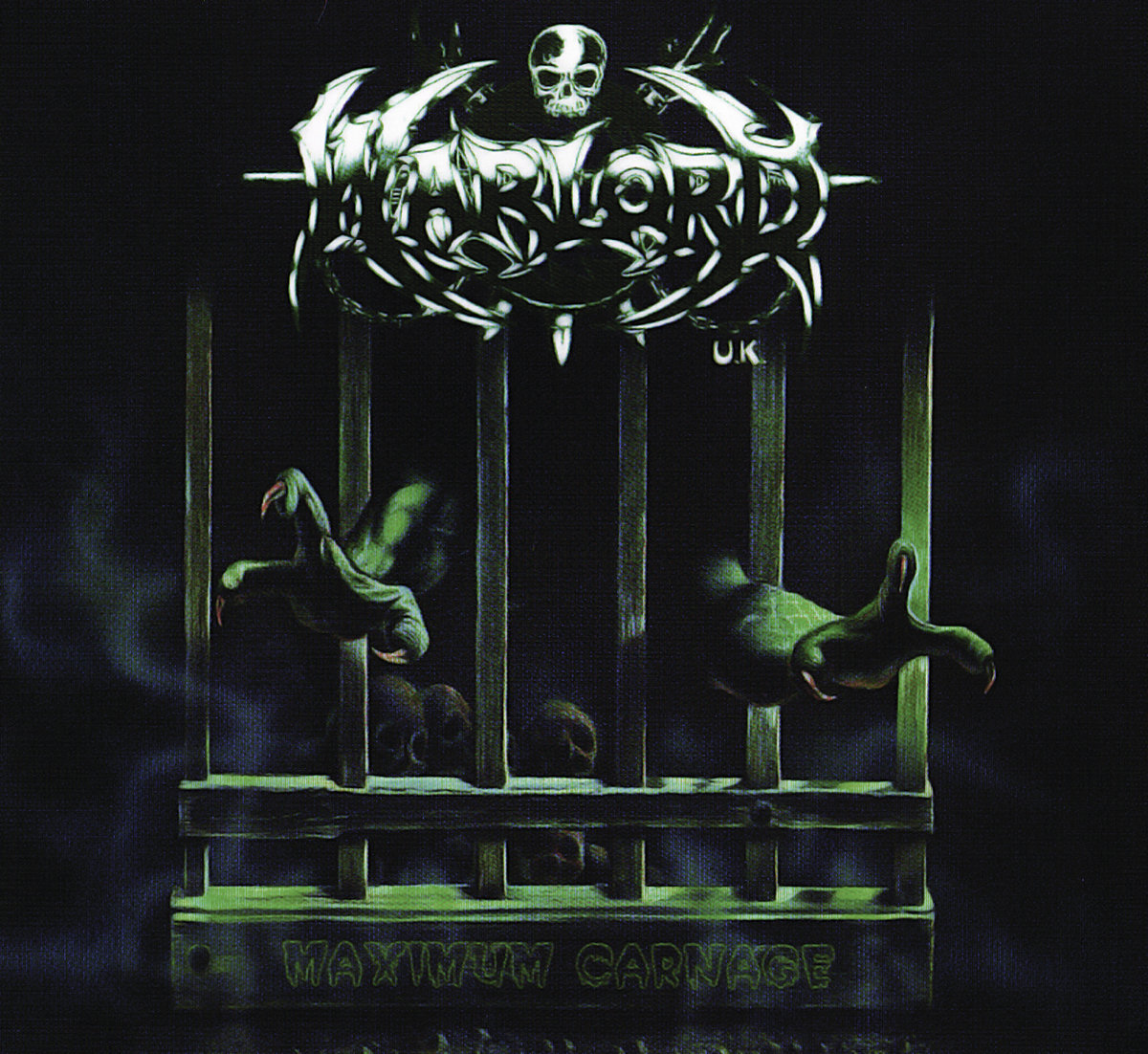 Warlord UK – Maximum Carnage Reissue CD Review