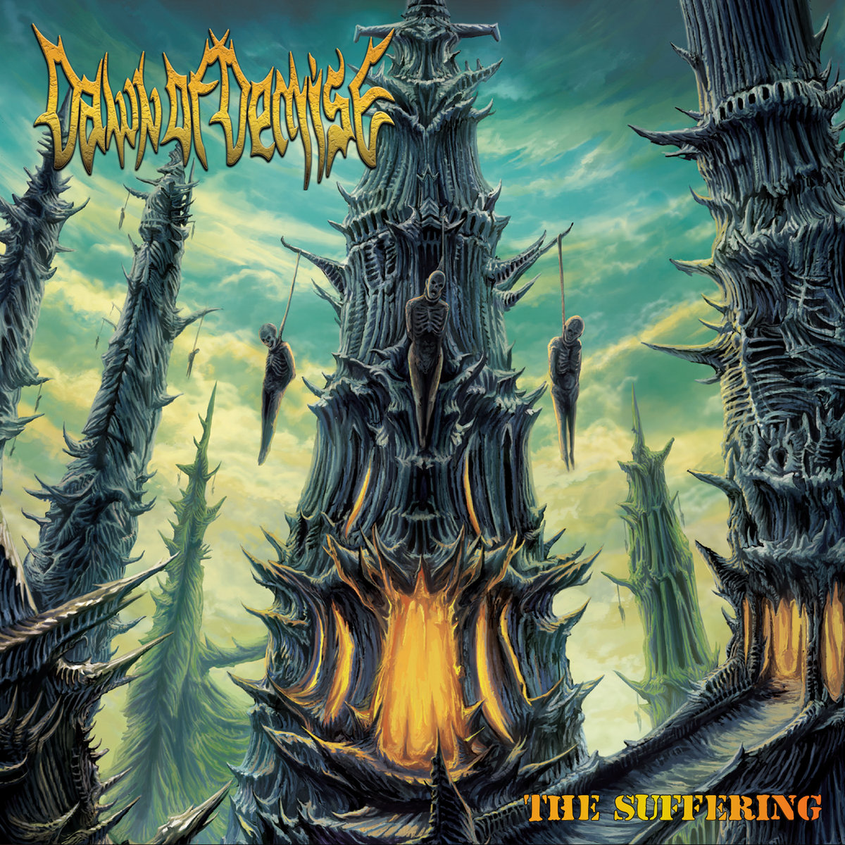 Dawn of Demise – The Suffering CD Review