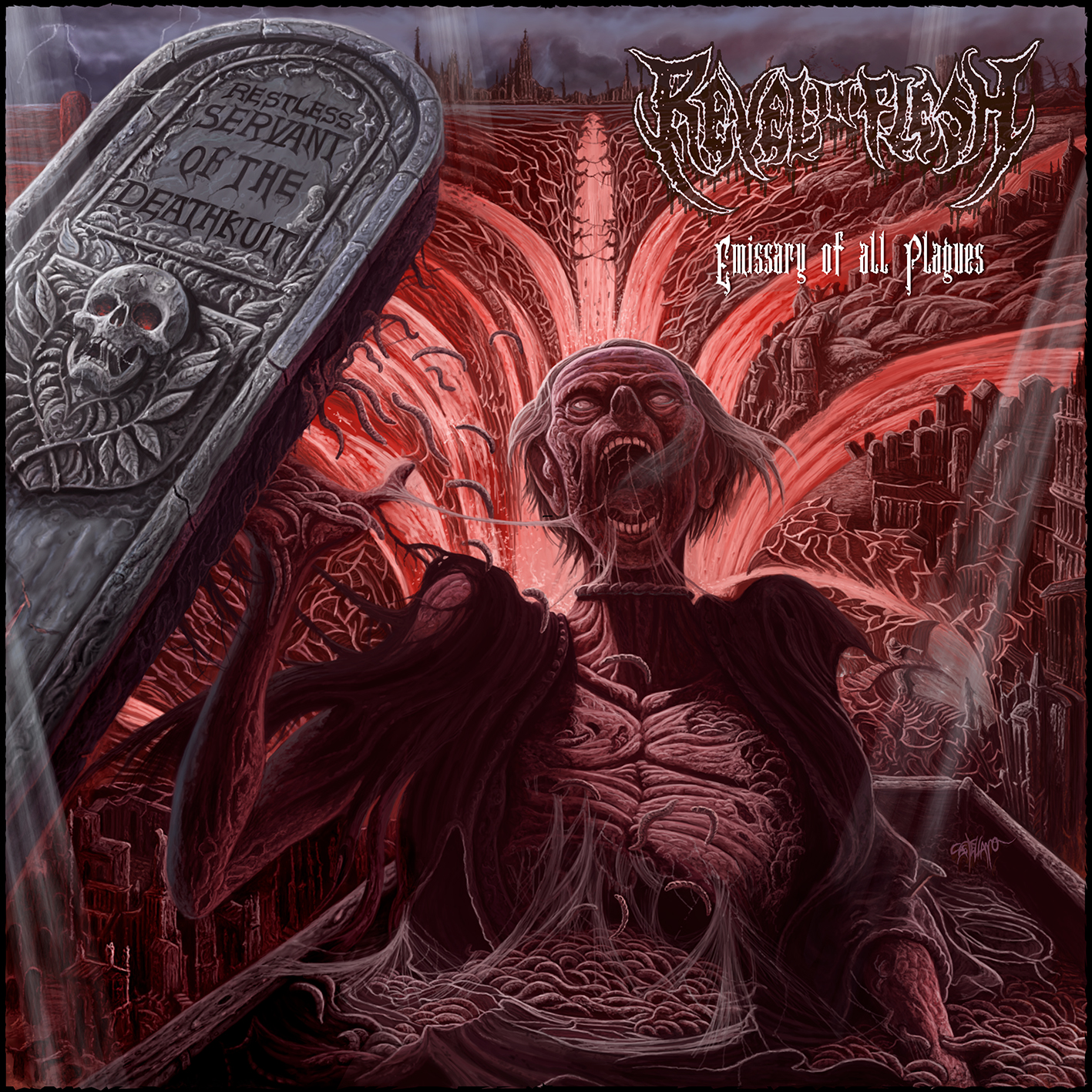 Revel In Flesh – Emissary of All Plagues CD Review