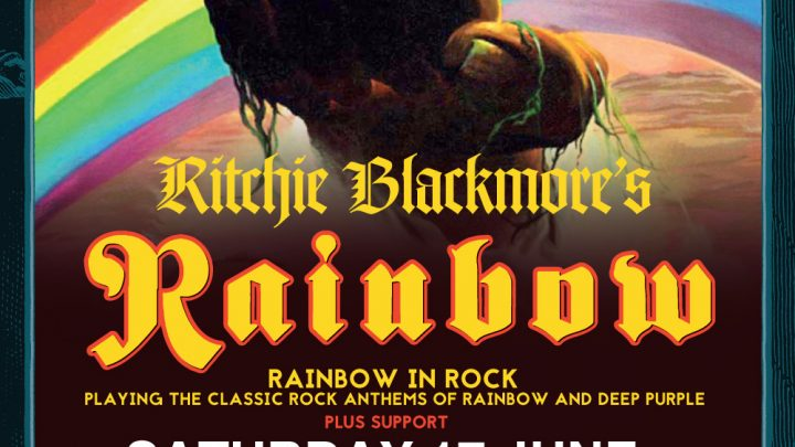 RITCHIE BLACKMORE'S RAINBOW UK TOUR – JUNE 2017