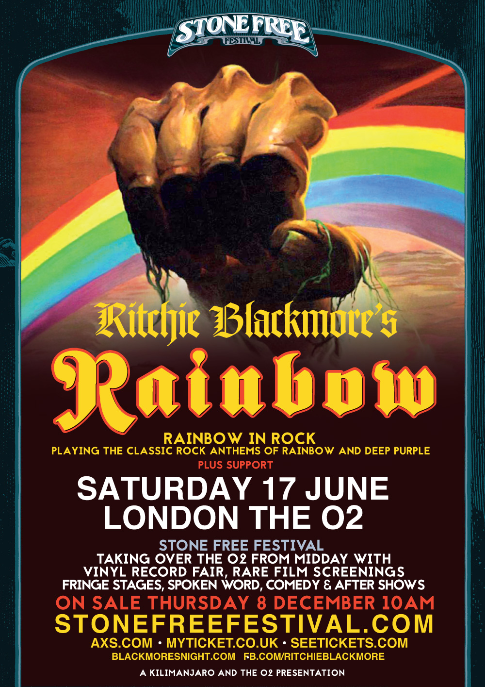 RITCHIE BLACKMORE'S RAINBOW UK TOUR – JUNE 2017 | All About The Rock