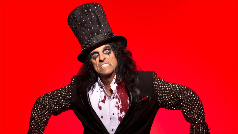 Alice Cooper returns to the UK for 2017