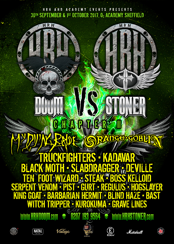 HRH DOOM VS HRH STONER -ANNOUCEMENT