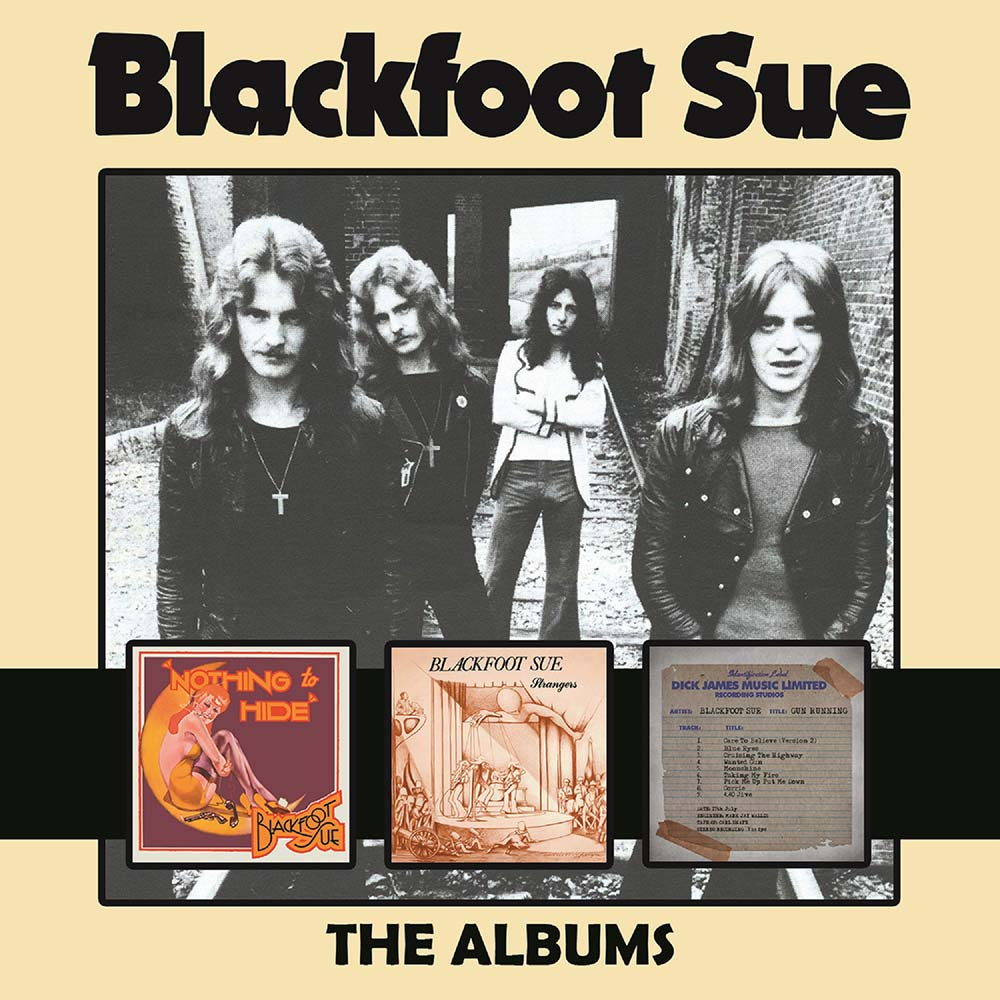 Blackfoot Sue – The Albums: 3CD Boxset