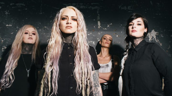 Watch the awesomely dark new video by Courtesans