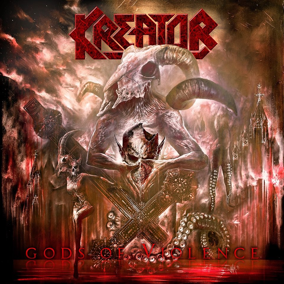 Kreator – Gods of Violence CD Review