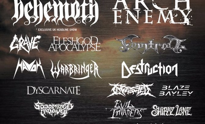 HEAVY SCOTLAND (Arch Enemy/Behemoth) announces day splits and after party