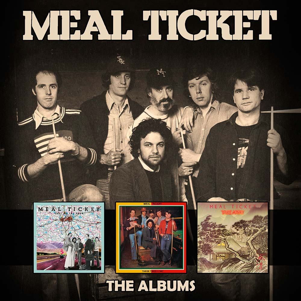 Meal Ticket – The Albums: 3CD Box Set